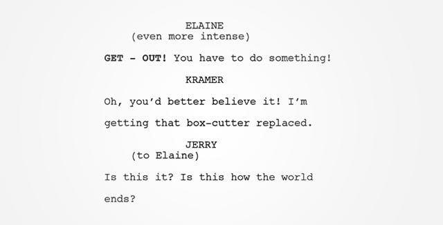 Seinfeld-Episode zu 9/11