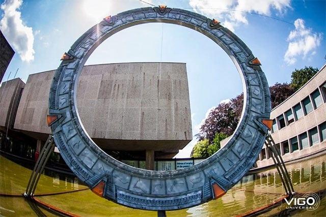3D-gedrucktes Stargate