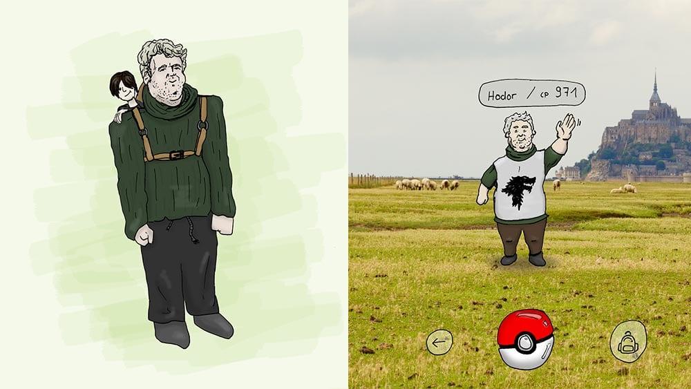 Hodor als Pokémon