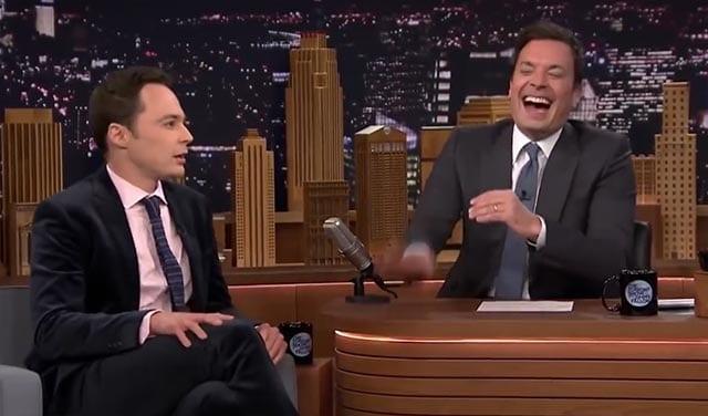 Jimmy Fallon lacht und lacht und lacht…