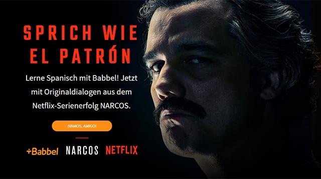 Narcos: Fluchen wie Pablo Escobar