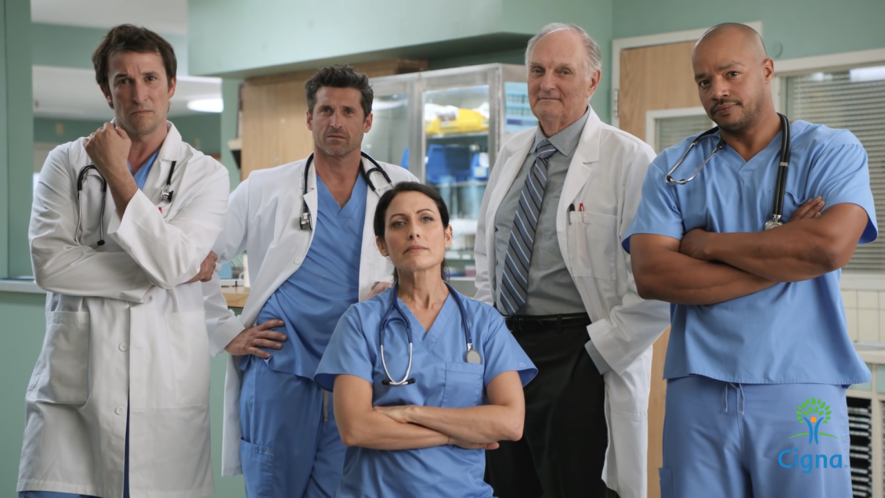 Werbespot vereint TV-Ärzte