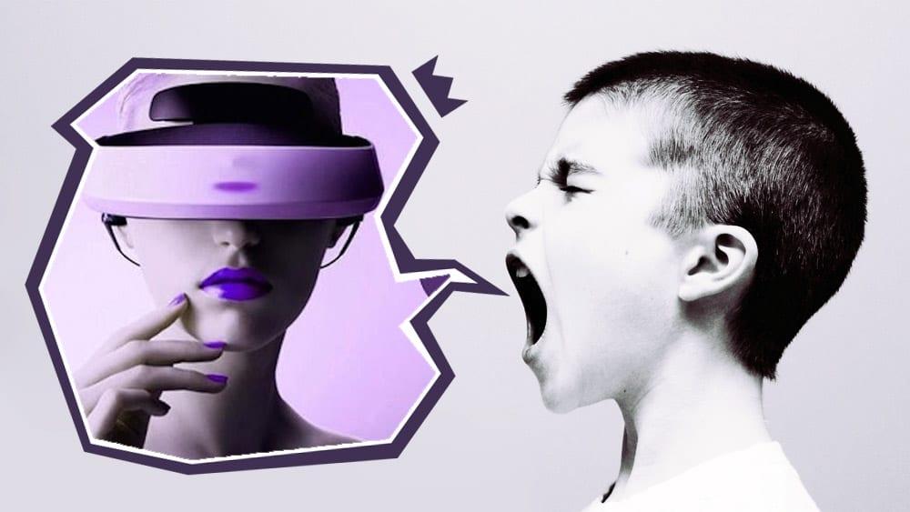 Virtual reality in TV Serien?