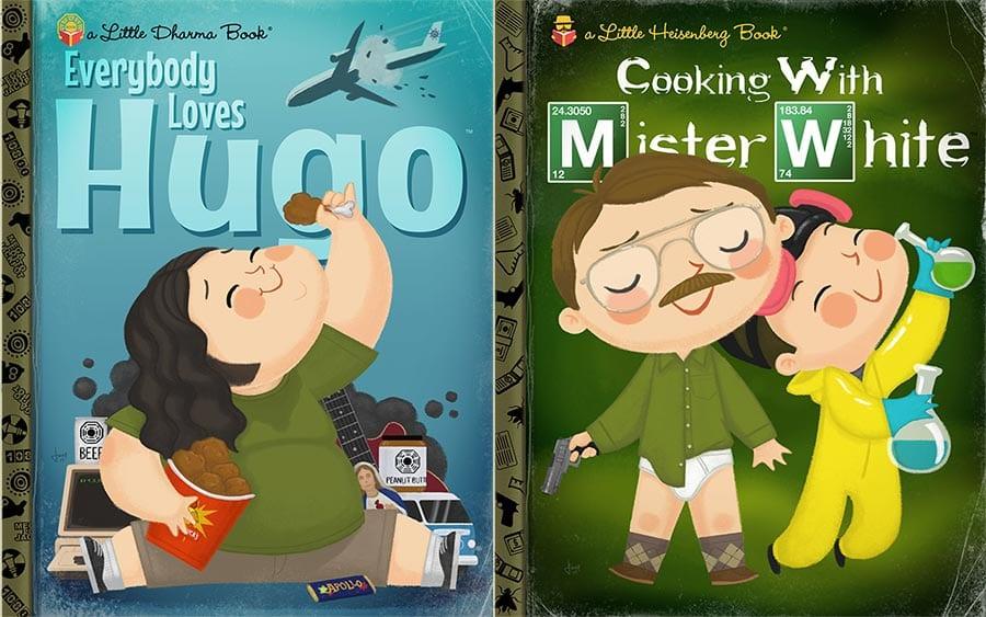 Mister White Jr. und andere Kinderbuchhelden
