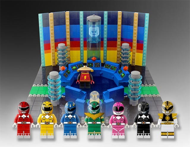 Power Rangers LEGO-Set