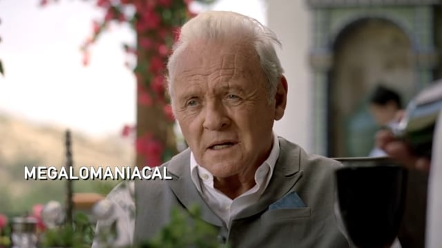 Anthony Hopkins' Schauspiel in Westworld