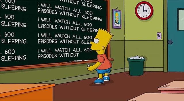 Im neuen Couchgag sterben die Simpsons