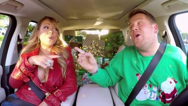 James Cordens Carpool Karaoke: XMAS-Edition