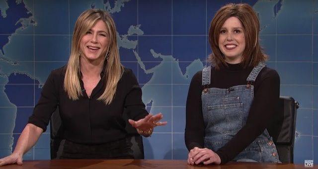 SNL: Jennifer Aniston trifft auf Vanessa Bayers Rachel