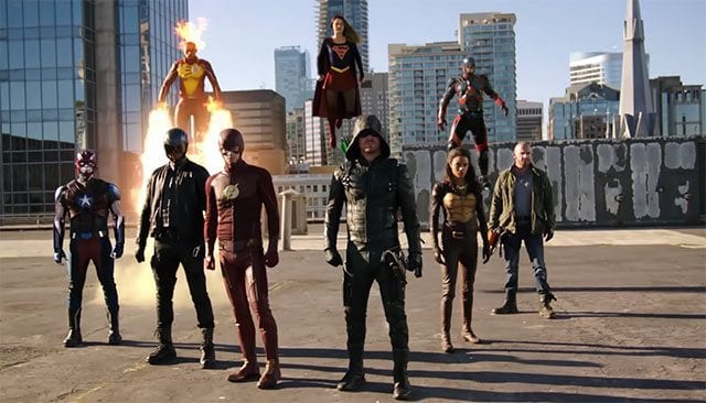 Großes Flash, Supergirl, Arrow & Legends of Tomorrow-Crossover