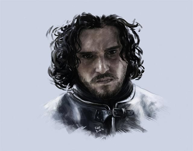 game-of-thrones-fanart-jon-snow