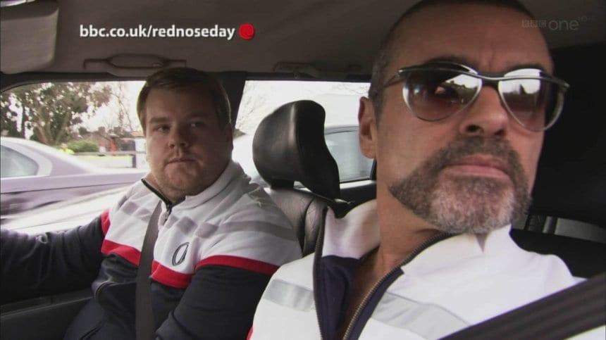Wie George Michael und James Corden Carpool Karaoke erfunden haben