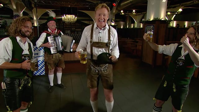 Conan O'Brien in Berlin © TBS