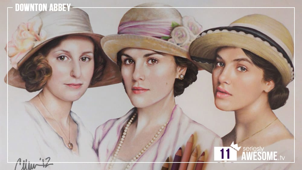 sAWEntskalender 2016 – Tür 11: Fan-Art zu Downton Abbey