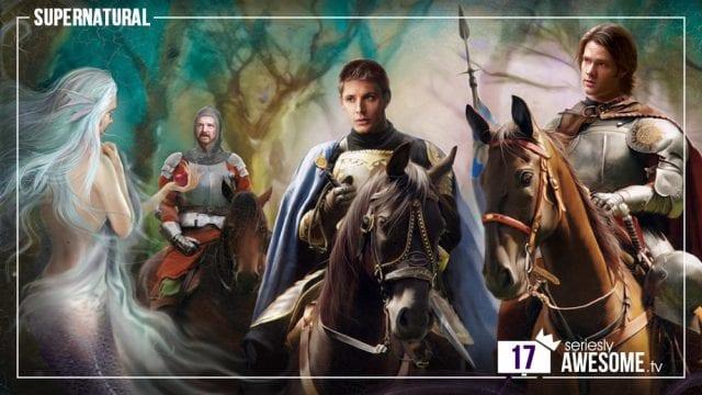 sAWEntskalender 2016 – Tür 17: Fan-Art zu Supernatural