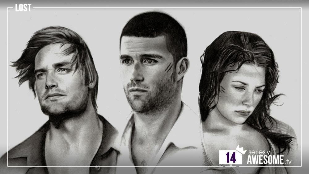 sAWEntskalender 2016 – Tür 14: Fan-Art zu LOST