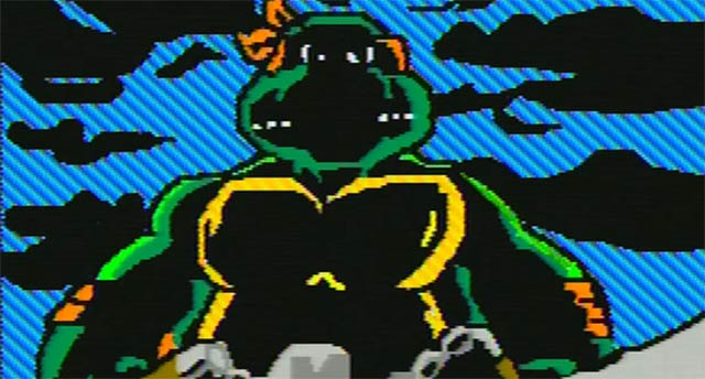 Teenage Mutant Ninja Turtles Intro in Mario Paint nachgemacht