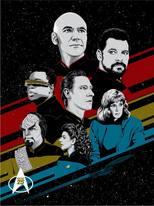 tracieching sAWEntskalender 2016 – Tür 7: Fan-Art zu Star Trek