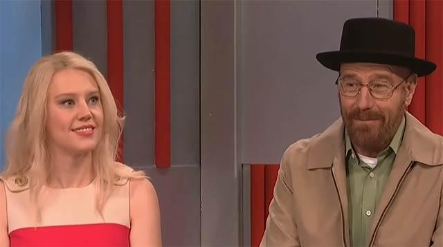 Walter White zu Gast bei Saturday Night Live