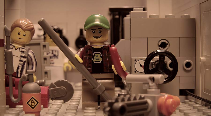 LEGO-Stopmotion: Fynn Kliemann bei Dittsche