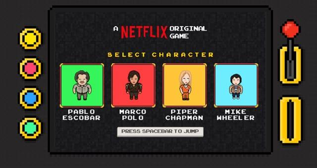 Let´s play Pablo Escobar oder Piper Chapman: Netflix Infinite Runner