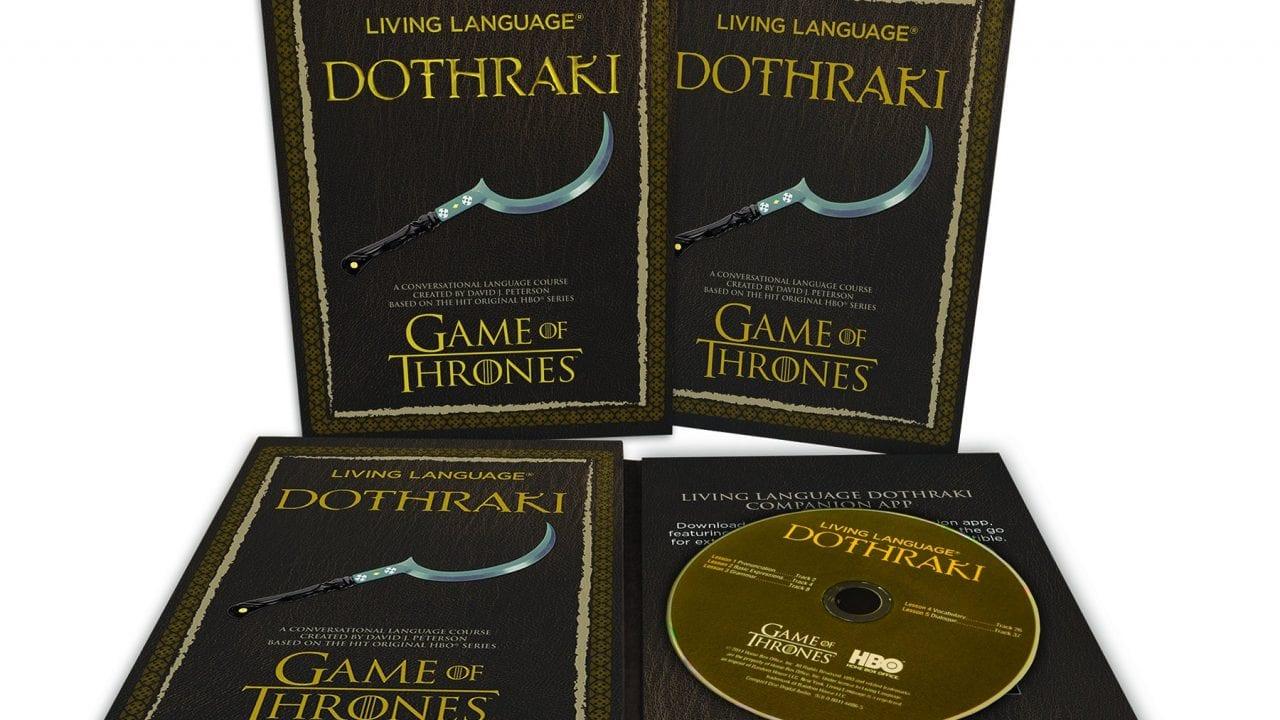 Dothraki-Sprachkursus für Game of Thrones-Fans