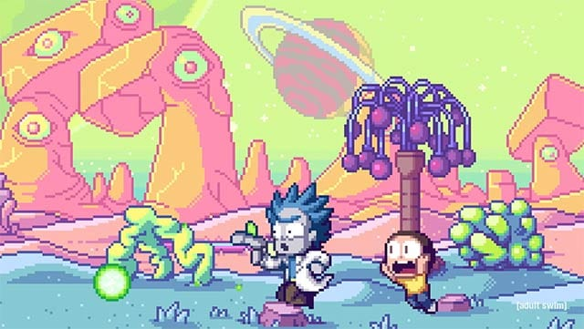 Rick and Morty 8-Bit Intro