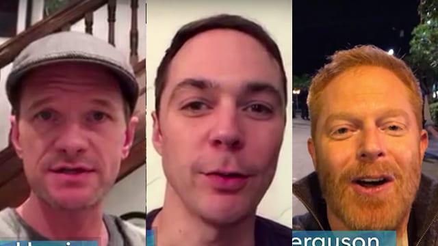 Schauspieler bedanken sich im Namen von LGBT bei B. Obama
