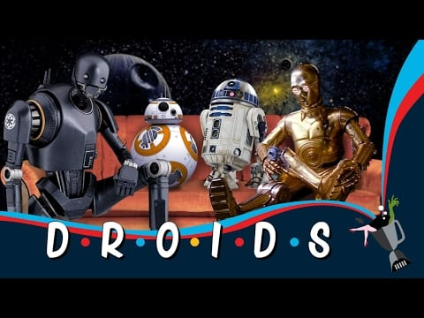 Star Wars Droids Friends