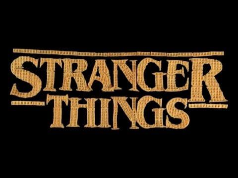 Stranger Things Intro mit Waffeln