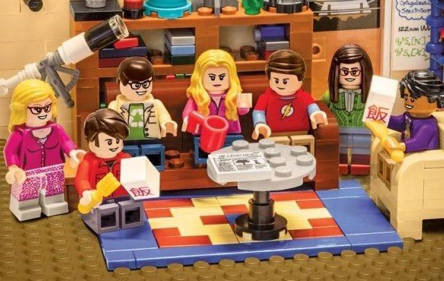 Serienposter im Lego-Stil