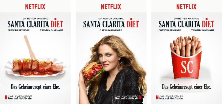 Santa Clarita Diet: Werberat hebt drohend den Zeigefinger