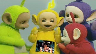 Teletubbies performen 'Get Ur Freak On'