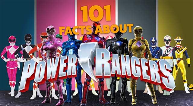 101 Power Rangers-Fakten