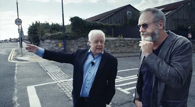 Durch die Nacht mit Liam Cunningham und Jim Sheridan