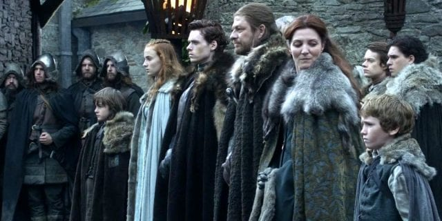 The-Stark-Family-in-Game-of-Thrones-640x320 Game of Thrones: Das war die aufwändigste Todesszene