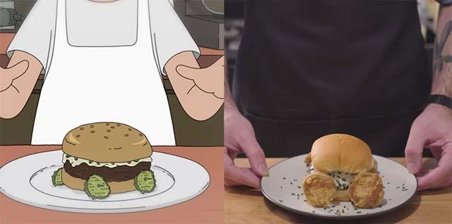 Bob's Burgers nachgekocht