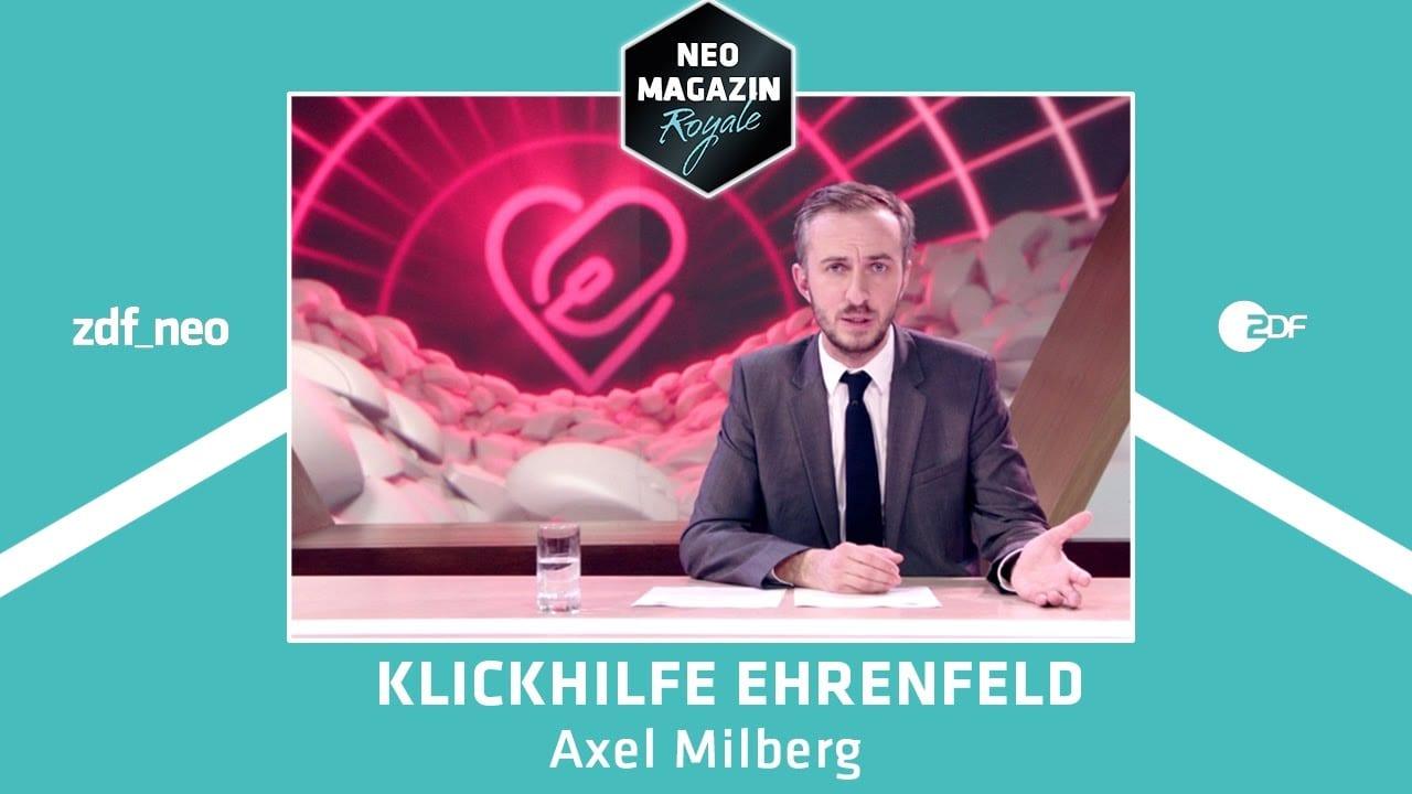 Klickhilfe Ehrenfeld: Böhmermann fordert Klicks für miese Promivideos