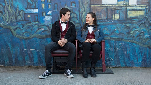 13 Reasons Why – Clay und Hannah © Netflix