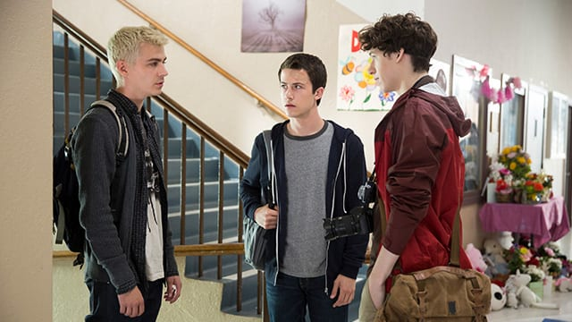 13 Reasons Why –Alex, Clay und Tyler © Netflix