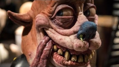 Creepy realistische Ren & Stimpy-Masken