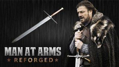Game of Trones-Schwert 'Ice' nachgeschmiedet