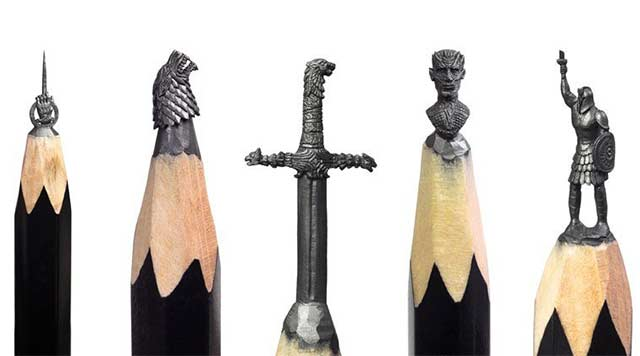 Game of Thrones-Bleistiftminen-Kunst