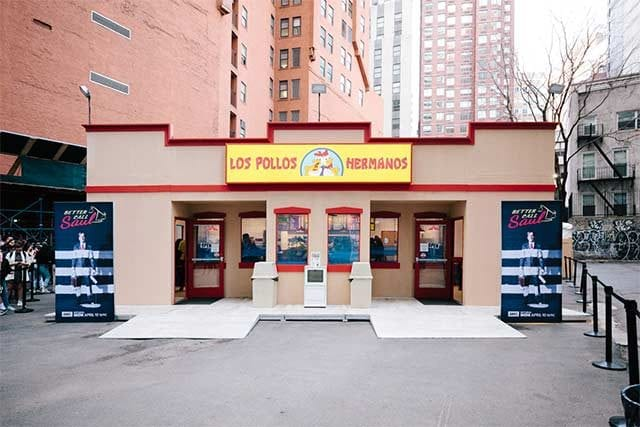 """Echtes """"Los Pollos Hermanos""""-Pop-Up Restaurant"""