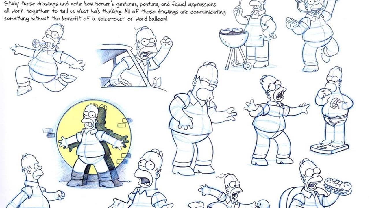 Charakterstudien der Simpsons