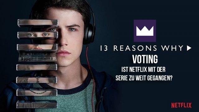 Poll: Ist Netflix mit 13 Reasons Why zu weit gegangen?