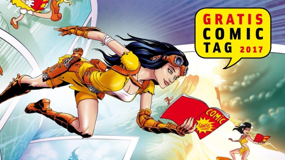 Gewinnt das große Comic-Paket zum Gratis Comic Tag 2017!