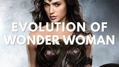 Wonder Woman Movie & TV Evolution