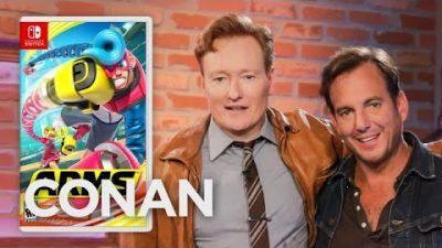 Will Arnett spielt ARMS gegen Conan O'Brien