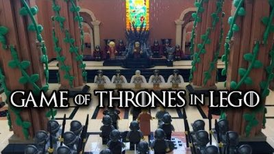 Game of Thrones in Lego nachgebaut